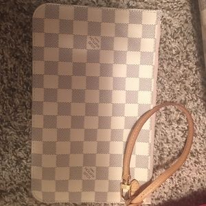 Authentic Louis Vuitton Large Clutch/Wristlett